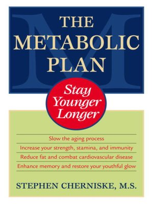 The Metabolic Plan by Stephen Cherniske.                                              AVAILABLE eBook.