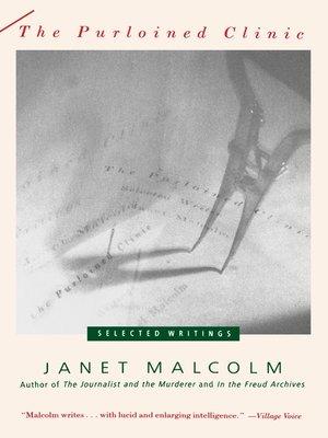Janet Malcolm OverDrive Rakuten OverDrive EBooks Audiobooks
