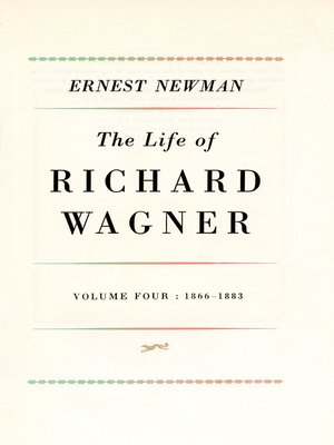 cover image of Life of R. Wagner, Volume 4