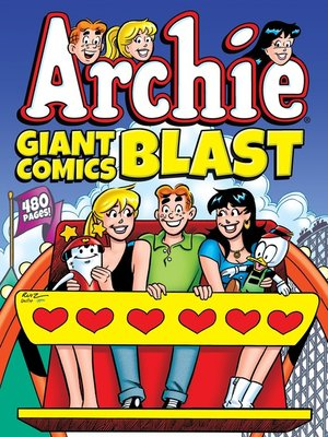 cover image of Archie Giant Comics Blast
