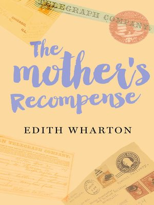 cover image of The Mother's Recompense