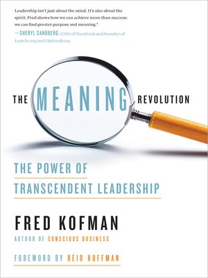 cover image of The Meaning Revolution