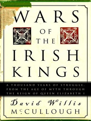 cover image of Wars of the Irish Kings