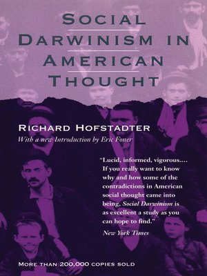 cover image of Social Darwinism in American Thought