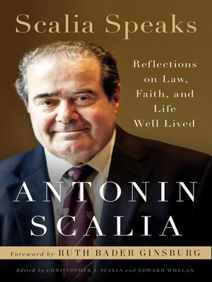 cover image of Scalia Speaks
