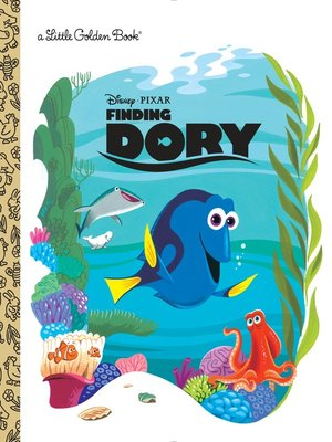 cover image of Finding Dory Little Golden Book