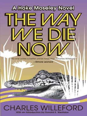 cover image of The Way We Die Now