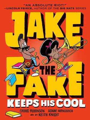 cover image of Jake the Fake Keeps His Cool