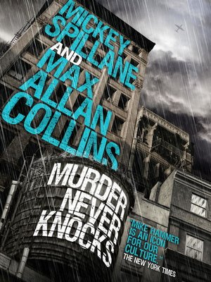 cover image of Murder Never Knocks