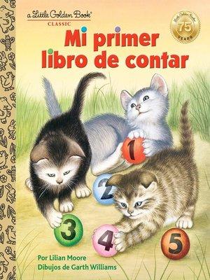 cover image of Mi primer libro de contar