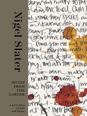 cover image of Notes from the Larder