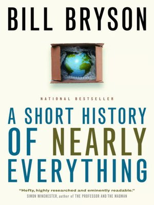 cover image of A Short History of Nearly Everything