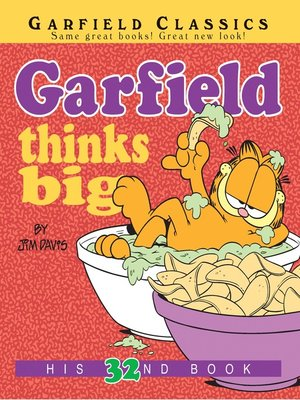 cover image of Garfield Thinks Big