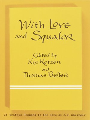 cover image of With Love and Squalor