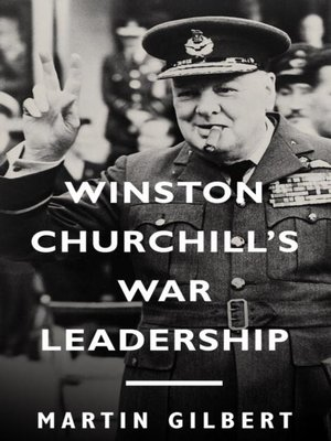 cover image of Winston Churchill's War Leadership
