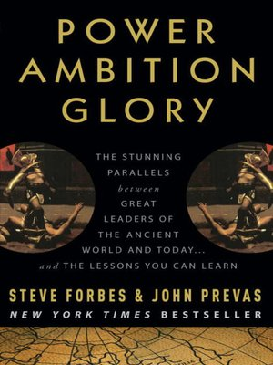 cover image of Power Ambition Glory