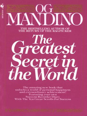 cover image of The Greatest Secret in the World