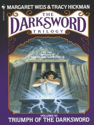 cover image of Triumph of the Darksword
