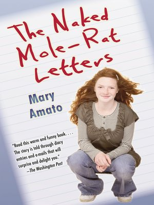 cover image of The Naked Mole-Rat Letters