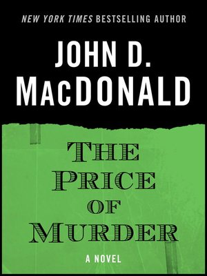 cover image of The Price of Murder