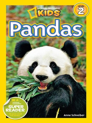 cover image of National Geographic Readers: Pandas