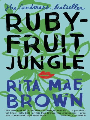 cover image of Rubyfruit Jungle