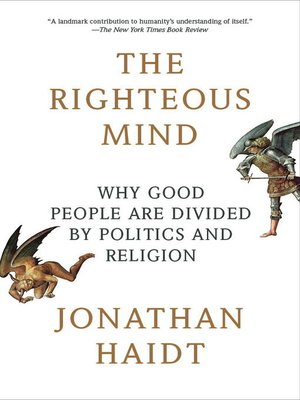 cover image of The Righteous Mind