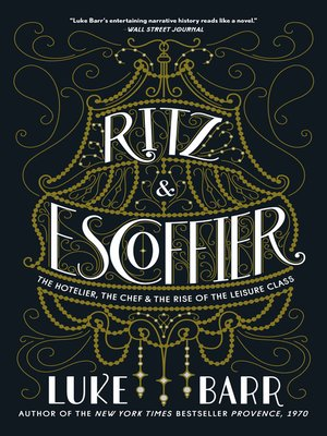 cover image of Ritz and Escoffier