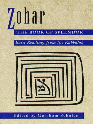 cover image of Zohar