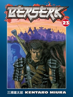 cover image of Berserk, Volume 23