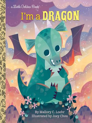 cover image of I'm a Dragon