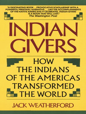 cover image of Indian Givers