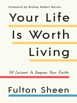 cover image of Your Life Is Worth Living