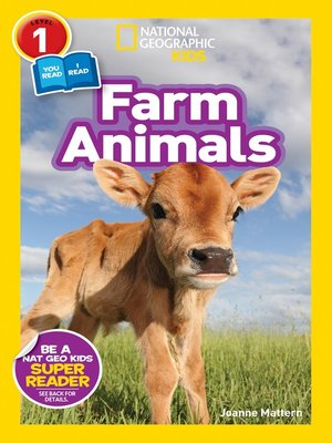 cover image of National Geographic Readers: Farm Animals