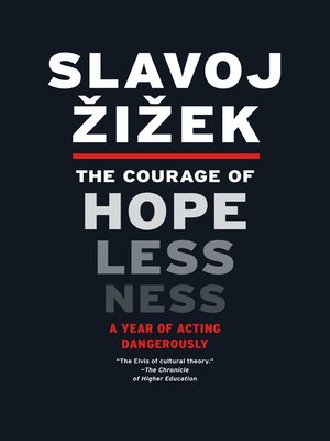 cover image of The Courage of Hopelessness