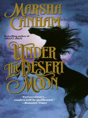 cover image of Under the Desert Moon
