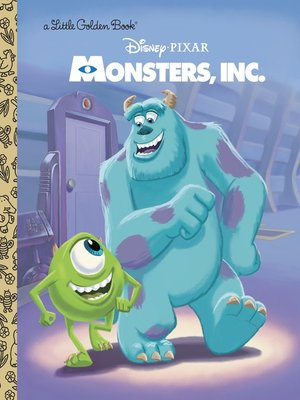 cover image of Monsters, Inc. Little Golden Book (Disney/Pixar Monsters, Inc.)