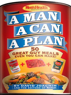cover image of A Man, a Can, a Plan