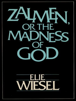 cover image of ZALMEN OR THE MADNESS OF GOD