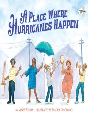 cover image of A Place Where Hurricanes Happen