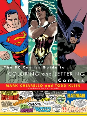 cover image of The DC Comics Guide to Coloring and Lettering Comics