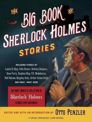 cover image of The Big Book of Sherlock Holmes Stories