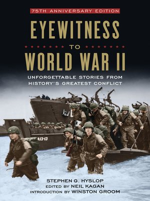 cover image of Eyewitness to World War II