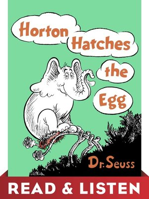 cover image of Horton Hatches the Egg