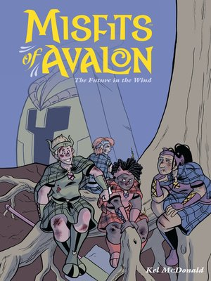 cover image of Misfits of Avalon (2014), Volume 3