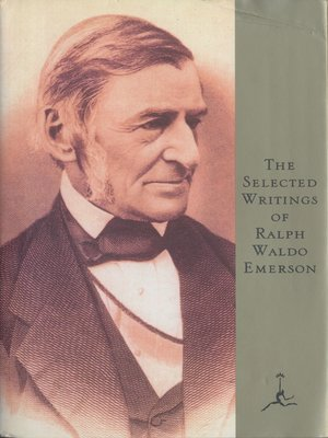 cover image of The Selected Writings of Ralph Waldo Emerson