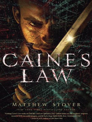 cover image of Caine's Law