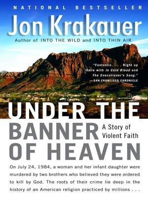 cover image of Under the Banner of Heaven