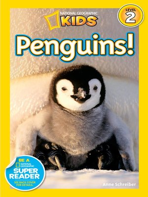 cover image of National Geographic Readers: Penguins!
