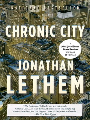 cover image of Chronic City